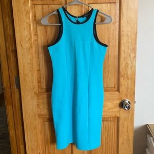Kenneth Cole Bodycon Dress in Turquoise